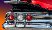 Chev Prints - 60 Chev Impala Print by Jim  Hatch