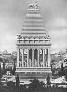 7 Wonders Of The World, Mausoleum Print by Photo Researchers