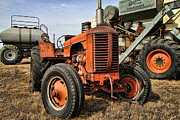 Antique Tractors Prints - A Case of Old Age Print by Edward R Wisell