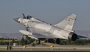 Flying Turkey Prints - A Dassault Mirage 2000 Of The United Print by Giovanni Colla