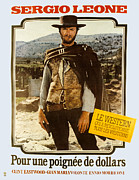 Release Framed Prints - A Fistful Of Dollars Aka Per Un Pugno Framed Print by Everett