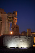 Horus Metal Prints - A Fragment Of The Temple That Metal Print by Taylor S. Kennedy