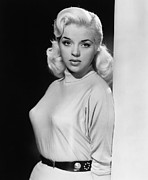 1955 Movies Photo Framed Prints - A Kid For Two Farthings, Diana Dors Framed Print by Everett