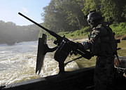 Conducting Prints - A Special Warfare Combatant-craft Print by Stocktrek Images