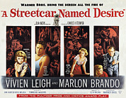 Films By Elia Kazan Prints - A Streetcar Named Desire, Vivien Leigh Print by Everett