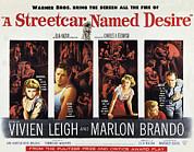 A Streetcar Named Desire, Vivien Leigh Print by Everett