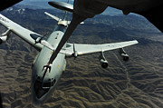 Kc Posters - A U.s. Air Force E-3 Sentry Aircraft Poster by Stocktrek Images