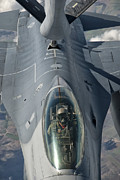 Mechanism Photo Prints - A U.s. Air Force F-16c Fighting Falcon Print by Giovanni Colla