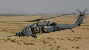 Operation Iraqi Freedom Art - A U.s. Air Force Hh-60 Pavehawk Flies by Stocktrek Images