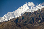 A View Of Dhaulagiri From The North Print by Stephen Sharnoff