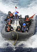 A Visit, Board, Search And Seizure Team Print by Stocktrek Images