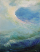 The Heavens Paintings - A Way Out by Michele Hollister - for Nancy Asbell