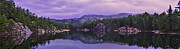 Killarney Provincial Park Photos - A Y Jackson Lake by Ken Bennison