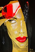 Rnb Art - Aaliyah by Estelle BRETON-MAYA