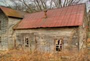 West Fork Prints - Abandoned Farmhouse in Kentucky Print by Douglas Barnett