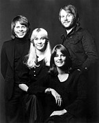 Singer Photos - Abba In 1980 by Everett