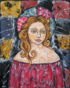 Devotional Paintings - Abbey by Rain Ririn