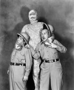 The Mummy Posters - Abbott And Costello Poster by Granger