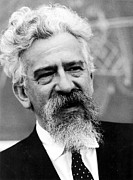 Author Prints - Abraham J. Heschel, Philosopher Print by Everett