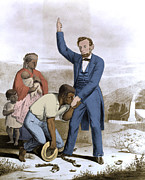 Anti-slavery Posters - Abraham Lincoln, 16th American President Poster by Photo Researchers, Inc.