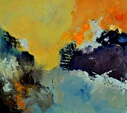Abstract 8821013 Print by Pol Ledent