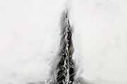 Drips Paintings - Abstract Black by Zack Settle