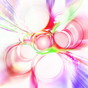 Materials Digital Art - Abstract Of Circle  by Setsiri Silapasuwanchai