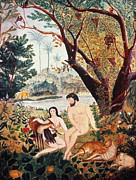 Knowledge Art - Adam & Eve by Granger