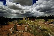 Grave Photos - Adobe Church by David Patterson