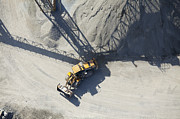 Loader Photos - Aerial View of an End Loader by Don Mason