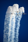 Bluesky Posters - Aerobatics Display Poster by Nir Ben-Yosef