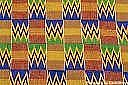 Ol - African Kente Cloth