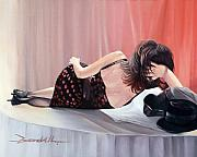 Ballroom Paintings - After The Dance by Lee Goodall
