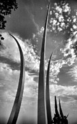 Framed Photograph Photo Prints - Air Force Memorial II Print by Steven Ainsworth