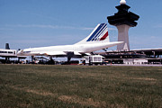 France Photo Originals - Air France Concorde by Jan Faul