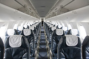 Airline Industry Prints - Airplane Seating Print by Jaak Nilson