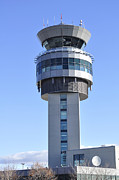 Airport Architecture Prints - Airport Control Tower. Print by Fernando Barozza