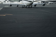 Air Traffic Control Prints - Airport Tarmac Print by Shannon Fagan