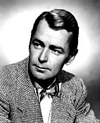 Bowtie Art - Alan Ladd, Portrait by Everett