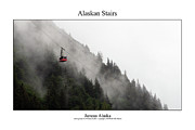 Signed Photo Framed Prints - Alaskan Stairs Framed Print by William Jones