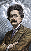 Theory Of Relativity Prints - Albert Einstein, Physicist Print by Bill Sanderson