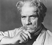 Mid-20th Framed Prints - Albert Schweitzer Framed Print by Granger