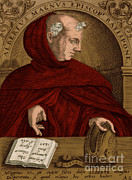 Portrait Woodblock Posters - Albertus Magnus, Medieval Philosopher Poster by Science Source