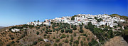 Spanish House Prints - Albondon pano Print by Jane Rix