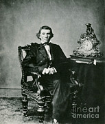 Confederacy Prints - Alexander H. Stephens Print by Photo Researchers