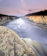 Alexandra Framed Prints - Alexandra Falls, Hay River, Northwest Framed Print by Darwin Wiggett