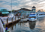 Shops Photos - Alexandria Waterfront I by Steven Ainsworth