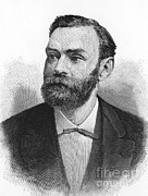 World Peace Art - Alfred Nobel, Swedish Chemist by Science Source