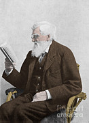 Social Issues Prints - Alfred Russel Wallace, Welsh Naturalist Print by Science Source