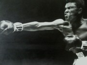 Sports Legends Paintings - Ali by Deborah Faas